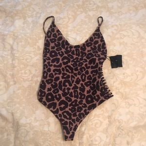 New with Tags, Stone Fox leopard swimsuit